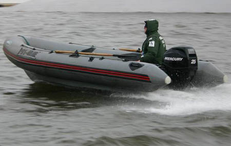 Лодка «Skyboat 440»