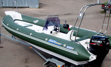 Лодка РИБ «SkyBoat 520R»