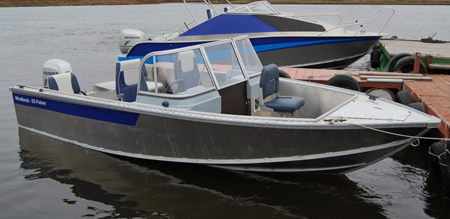 Лодка «Windboat 55 Fisher»