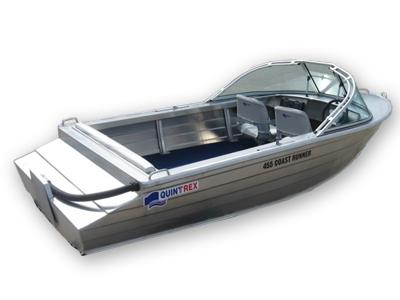 Лодка QUINTREX 455 COAST RUNNER