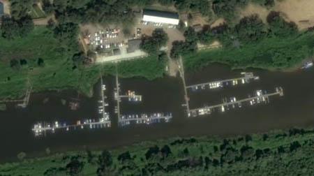 Лодочная станция поселка Прибрежный в Самаре