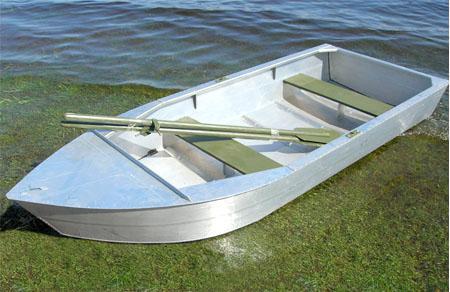 Алюминиевая лодка-картоп «Малютка-Н»