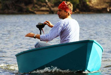 Деревянная лодка «ДжекБот 180»