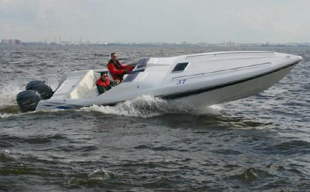 Скоростная моторная лодка «Морской Дракон» (В-915, Sea Dragon)