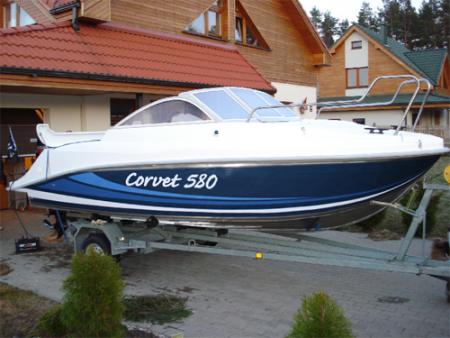 Катер «Корвет 580»