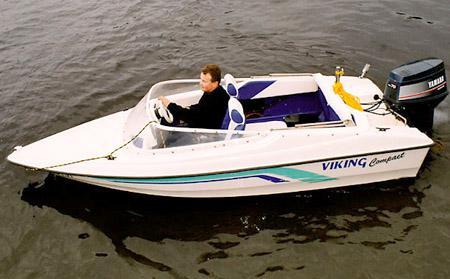 Моторная лодка «САВА Викинг 420» («SAVA Viking 420 Compact»)
