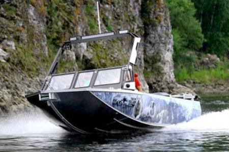 Водометный алюминиевый катер «Ка-Хем 665»