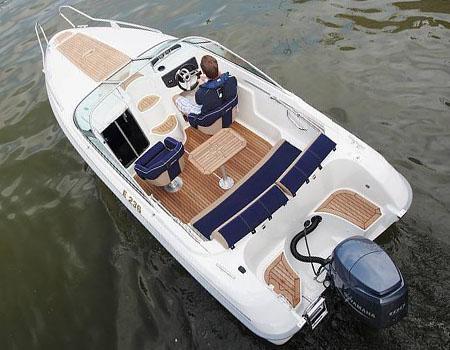 Моторная лодка «Yamarin 59 Day Cruiser»