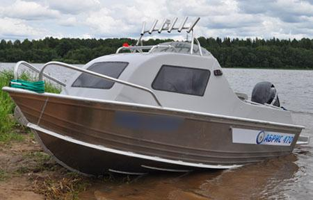Моторная лодка «Абрис 470»