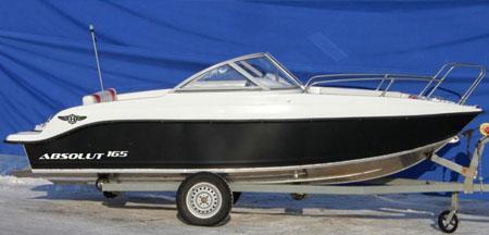 Моторная лодка «Absolut 165»