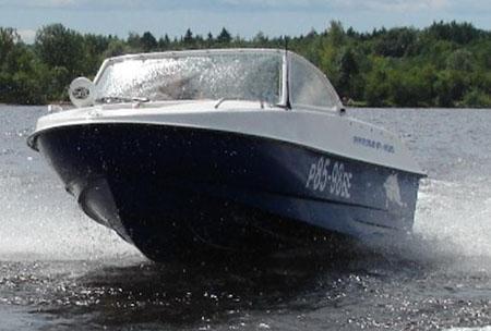 Моторная лодка «Афалина 400»