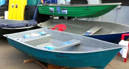 Стеклопластиковая лодка «Альтан 30»