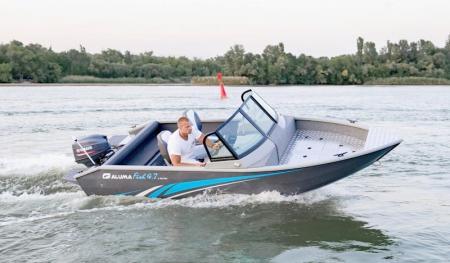 Моторная лодка «Aluma Fish 4,7 X»