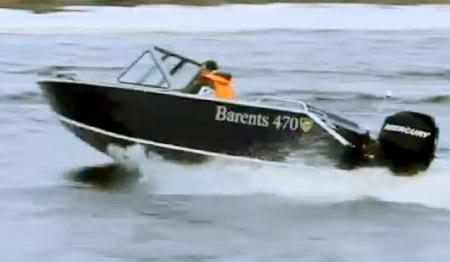 Моторная лодка «Barents 470»