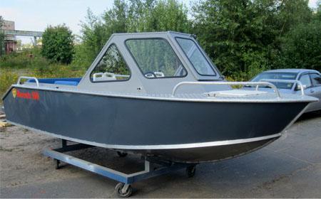 Алюминиевая лодка «Barents 500»