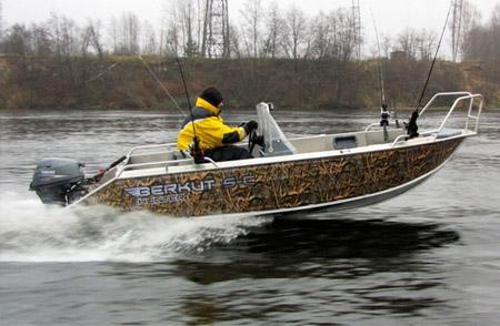 Алюминиевая лодка «Беркут S»