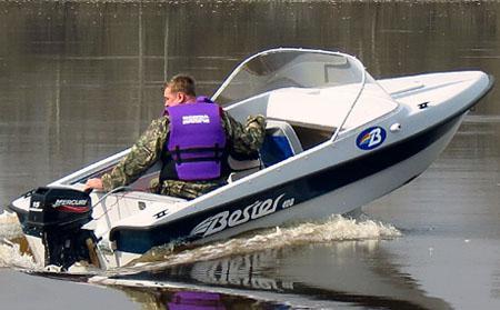 Моторная лодка «Бестер 400»