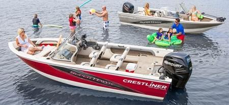 Лодки «Crestliner 1850»