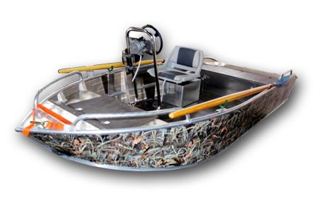 Лодка «Фибербот 380»