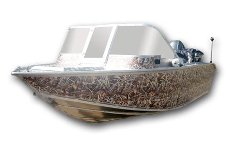 Лодка «Фибербот 490»