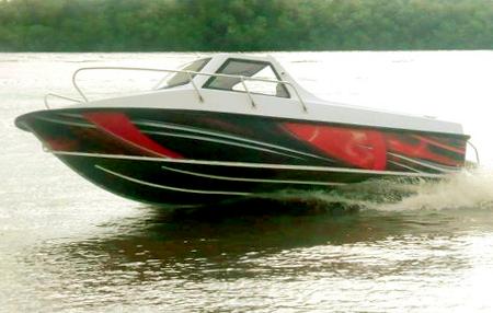 Лодка «Фибербот 515»