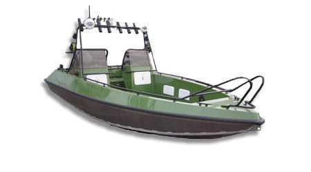 Лодка «Гризли 470»