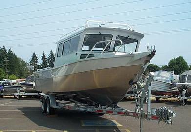 Лодка «Гризли 750 Cabin»