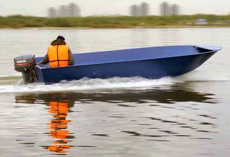 Стальная лодка «Iron Boat 520»