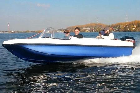 Моторная лодка «Легант 430»