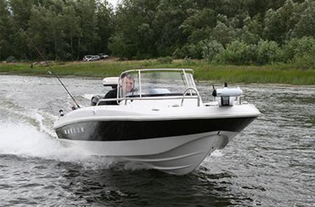 Моторная лодка «Marlin»