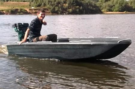 Полиэтиленовая лодка «Лиман»
