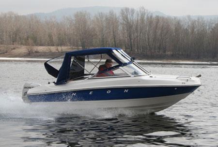 Стеклопластиковая лодка «Neon»