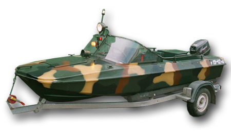 Лодка «Обь-3»