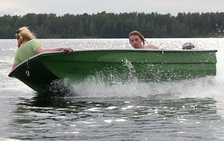 Стеклопластиковая лодка-картоп «Онего 290»
