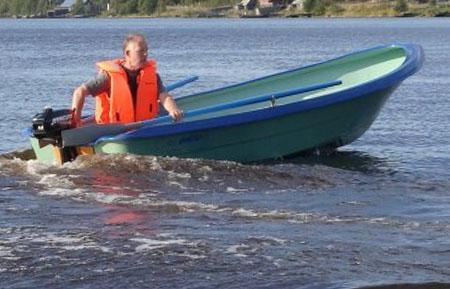 Стеклопластиковая лодка «Онего 365»