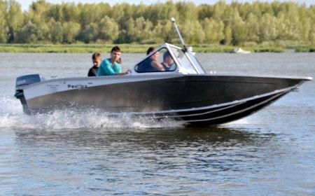 Алюминиевая лодка «Рекорд 490 Фишка»
