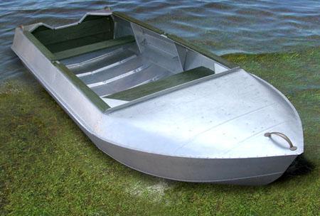 Алюминиевая лодка-картоп «Романтика-Н»