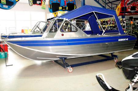 Алюминиевая моторная лодка «RusBoat 45»