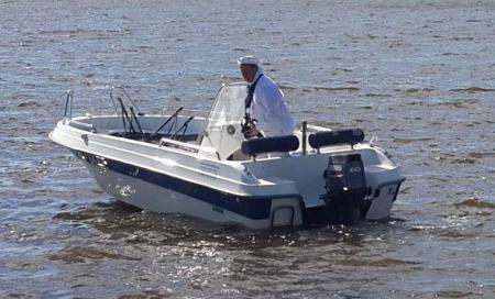 Моторная лодка «SAVA 475»