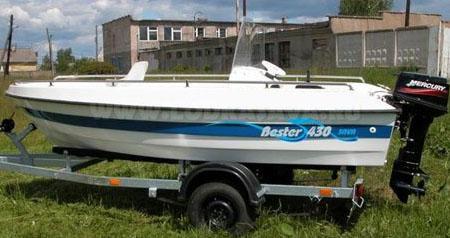 Моторная лодка «SAVA Bester 430»