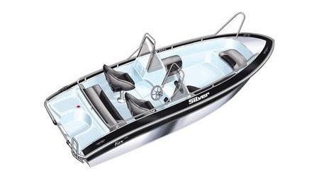 Лодка Silver Fox SC 485