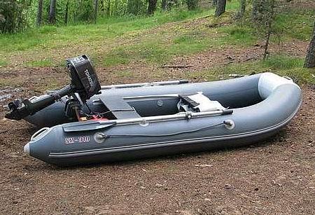 Надувная ПВХ лодка «Смарт 310 LE»