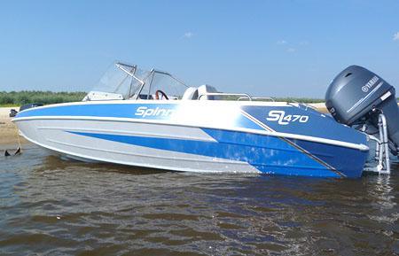 Алюминиевая лодка «Spinningline SL 470»