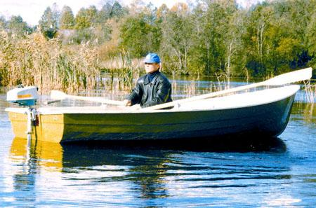 Лодка «Стрингер 415»