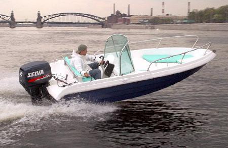 Моторная лодка «Стрингер 450»
