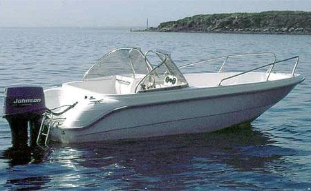 Пластиковая моторная лодка «Стрингер 480»