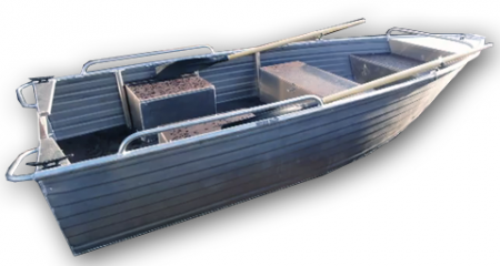 Моторная лодка «Уралъ 410»