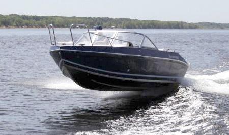 Моторная лодка «Волжанка 49»