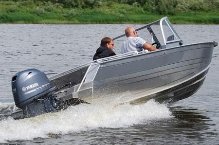 Алюминиевая моторная лодка «Windboat 48»