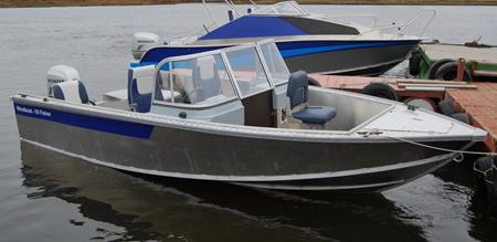 Лодка «Windboat 55 Fisher»